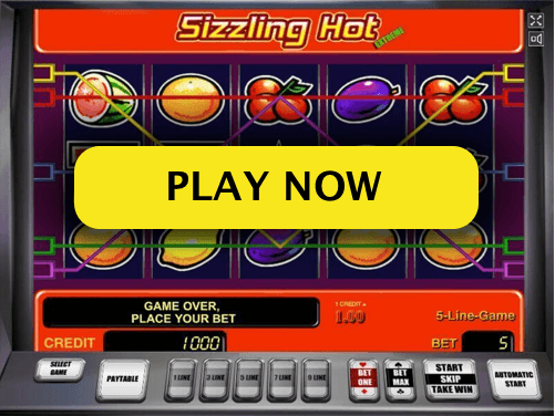screenshot of list of slots games